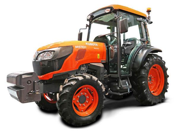tractor kubota cu cabina pentru agricultura si viticultura